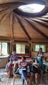 One room roundhouse home! (Robina's house)