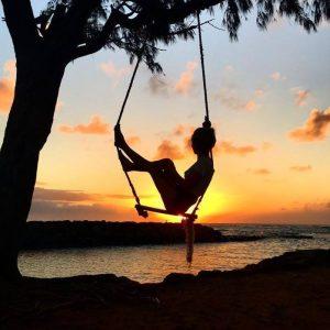 Kauai Sunrise Swing. Photo by Sophie Tuchel