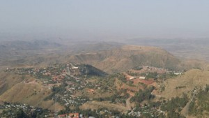 Lalibela from afar