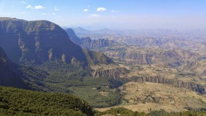 Simien Mountains Near to Sal's Hometown