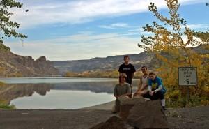 Carrot Spoons - Group Photo - Deep Lake