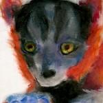 Babby Lemur Pastel