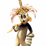 "King Julian from the movie ""Madagascar"""