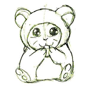 hamster sketch by kukon on DeviantArt