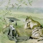 """Tiger Having Eaten Professor"" - Frederick Church"