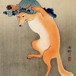"""Ohara Koson -""""Kitsune."""" Alphabestiary. May 11, 2011"""