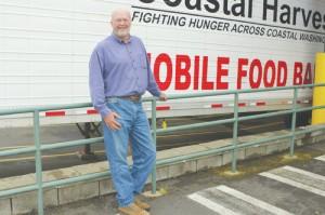 Tony and Coastal Harvest's Food Bank Truck