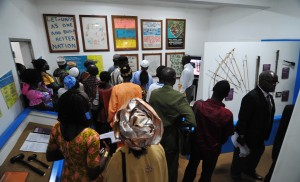 At the Sierra Leone Peace Museum, visitors look at the causes of the nation's 1991 to 2002 civil war and how they connect to healing, rebuilding and promoting a continued peace.