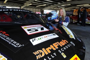 Jackie Heinricher and GRC Race Car