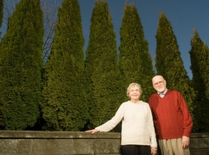Barbara and Charles McCann are photographed at their home in Tumwater, Washington, on Tuesday, January 15, 2008.