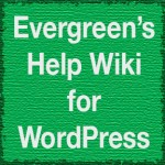 Help Wiki for WordPress