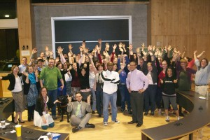 victory fun pic at end of winter 2015 of the 2013 cohort