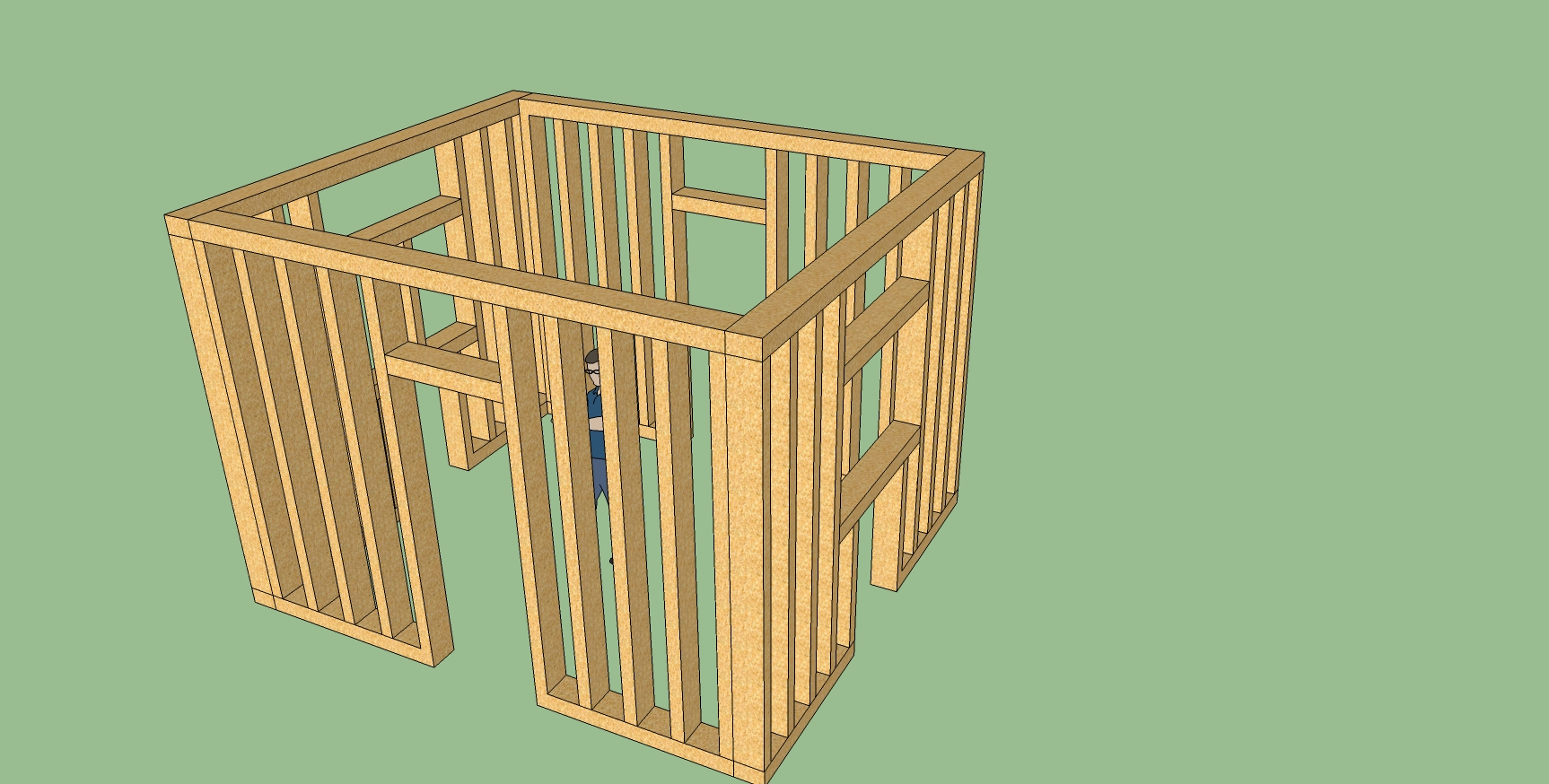 Week 4 methods of design for Exterior framing