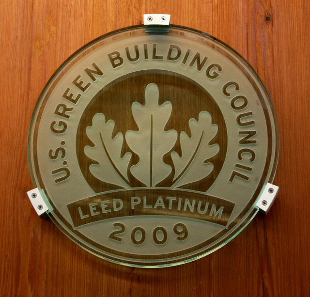 Leed leadership in energy and environmental design for Platinum leed certification