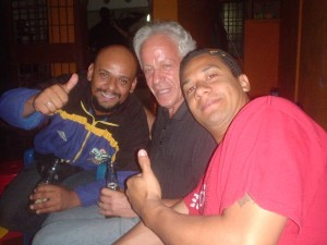Alex, Nelson, Peter in Barquisimeto, March 2009