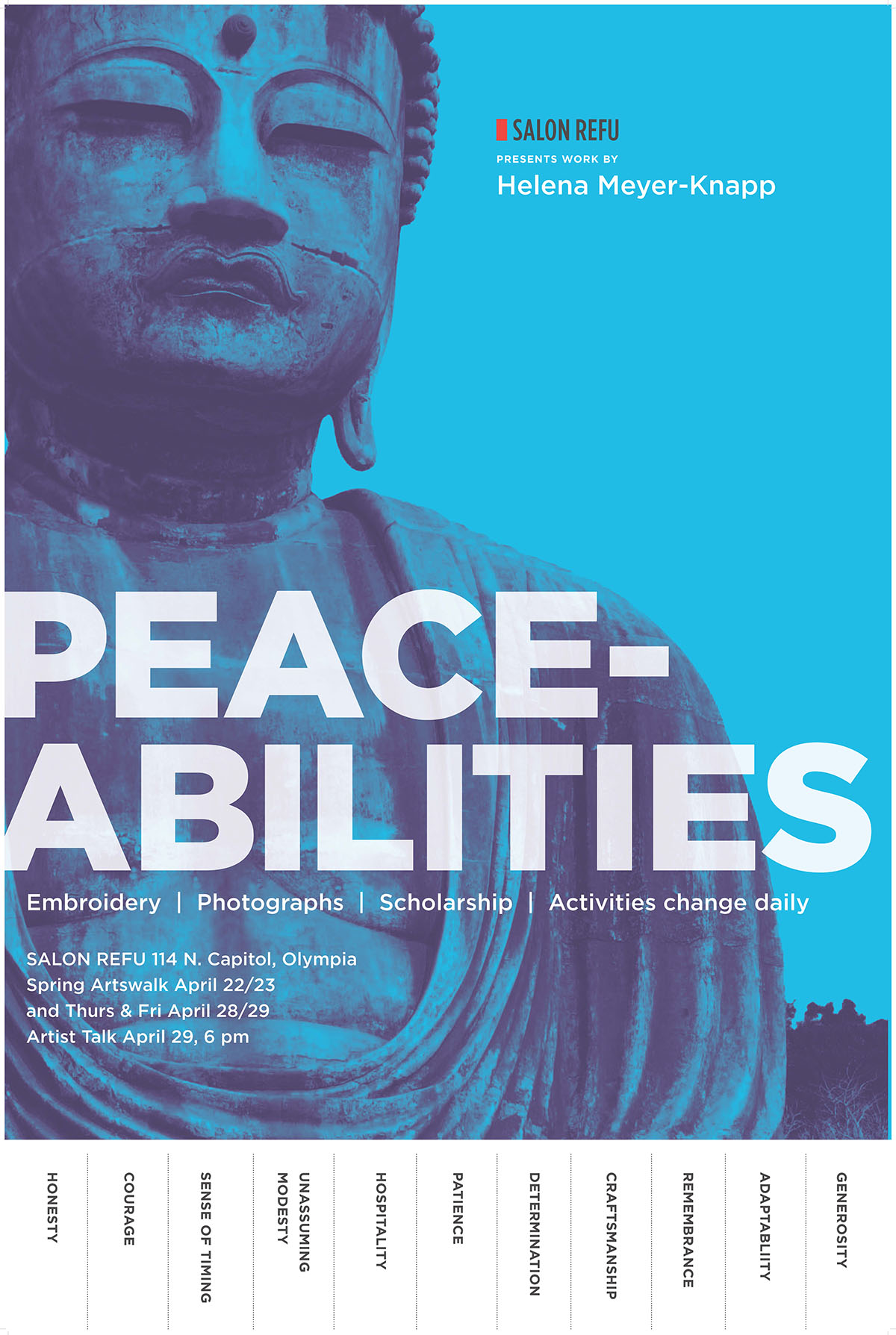 Meyer-Knapp Peace-abilities Poster