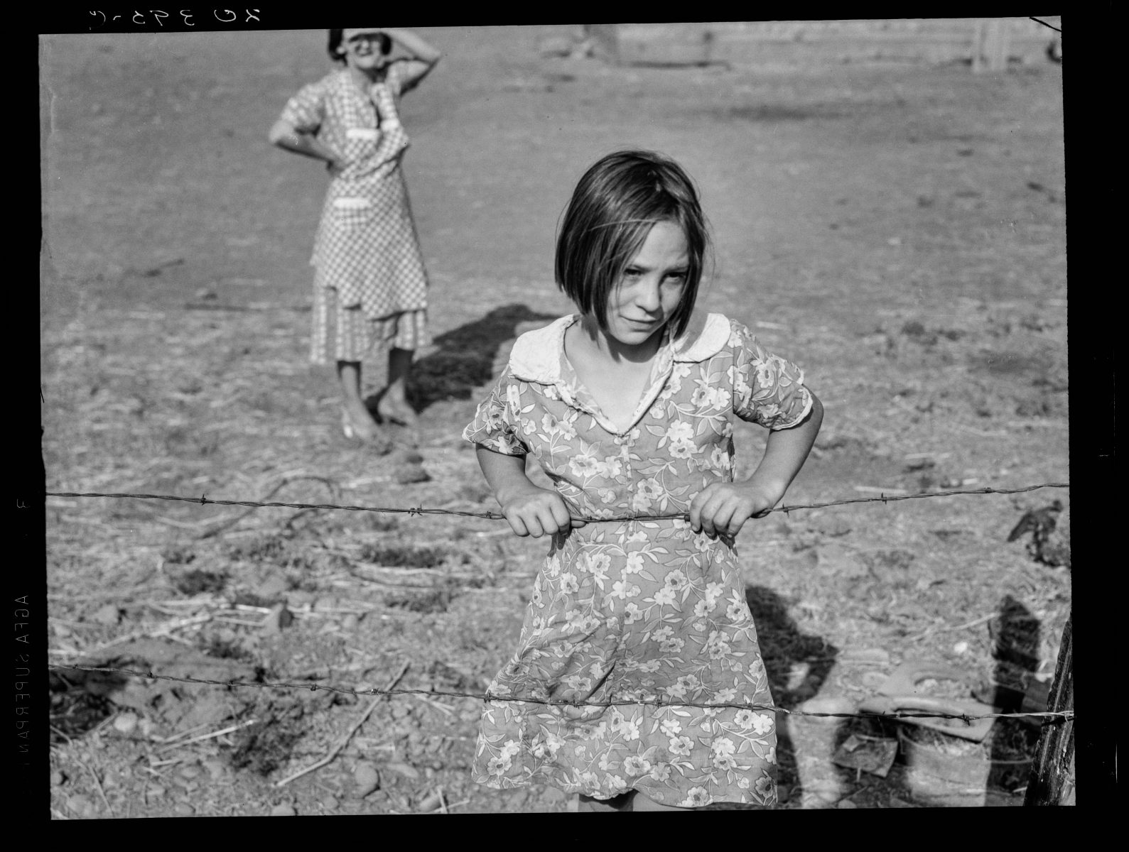 Yakima Valley, near Wapato. One of Chris Adolph's younger children. Farm Security Administration Rehabilitation clients. 1939 Aug.