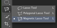 Magnetic lasso